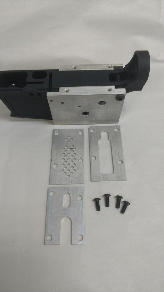 9MM 80% LOWER RECEIVER/ WITH JIG KIT
