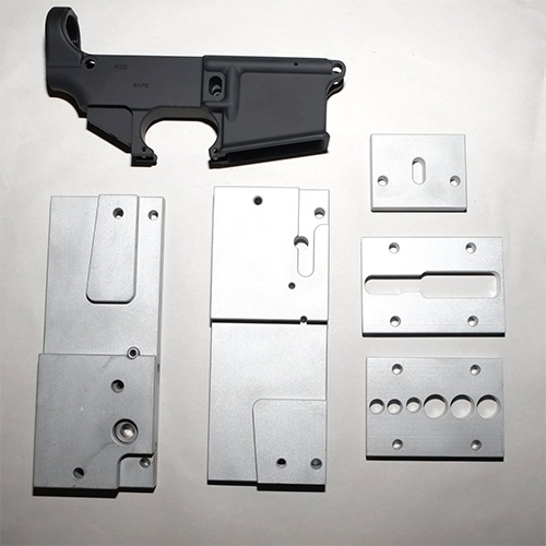 AR-15 80% LOWER RECEIVER AND JIG KIT
