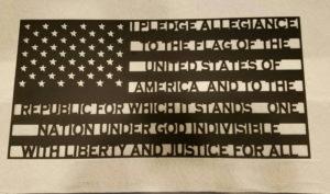 pledge of allegiance flag